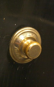 Gold Combination Lock